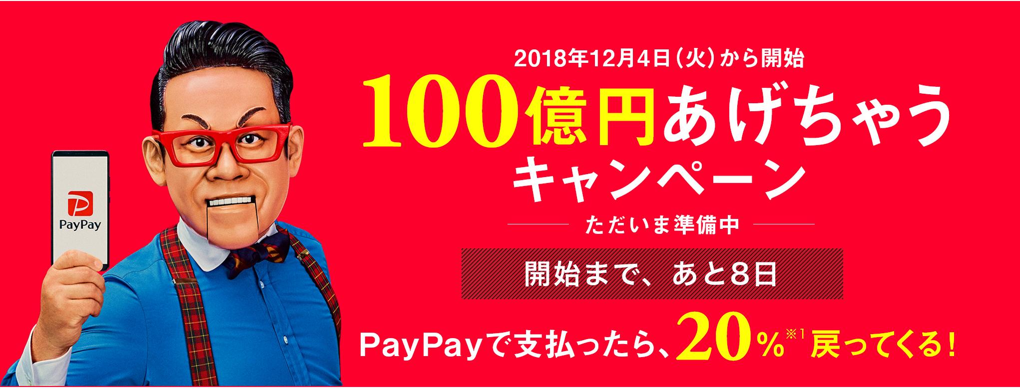 PayPay20percentoff