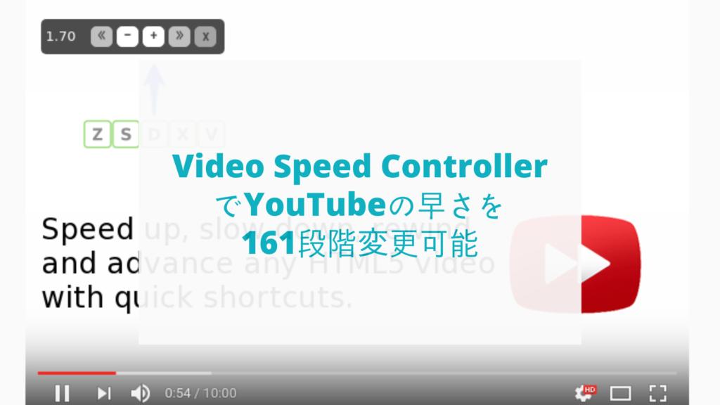 VideoSpeedController