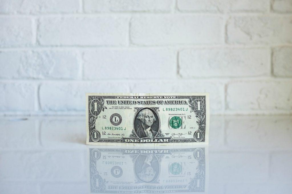 1ドル札画像